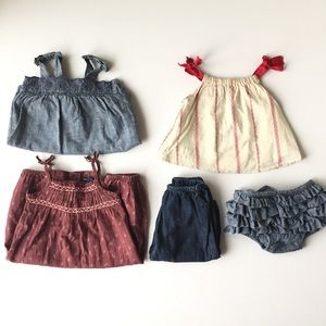 Baby Gap girls 3-6 month bundle.